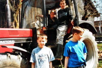 Urlaub auf dem Bauernhof für Familien mit Kinder - Ferienhaus mit Hund