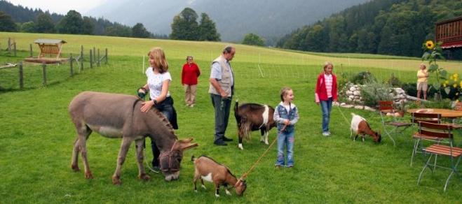 Urlaub auf dem Bauernhof Berchtesgaden Familienurlaub