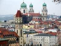 Dom in Bayern Ansicht Passau Stefansdom