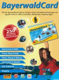 Bayerwald Rabatt Karte kostenlos Urlaub Bayern