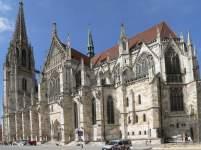 Kirchen in Bayern Ansicht Regensburger Dom