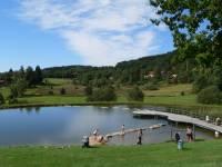 Urlaub am Wasser Bayerischer Wald schwimmen Boot fahren
