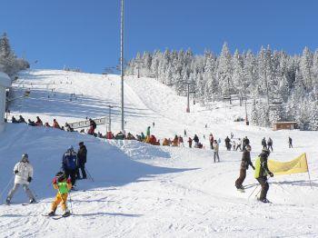 Wintersport im Bayerischen Wald Skifahren am Arber